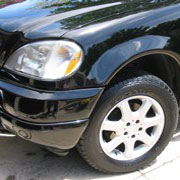 Aloha Car Care: Benz ML 500